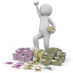 money, euro, profit
